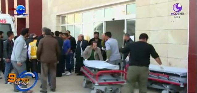 คนร้ายลอบบึ้ม ใกล้พรมแดนตุรกี ตาย-เจ็บอื้อ คาดฝีมือไอเอสในซีเรีย