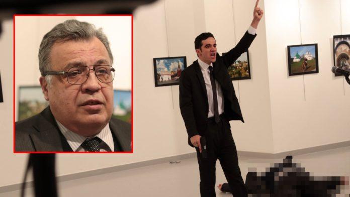 คลิปนาทีสังหาร ทูตรัสเซียประจำตุรกี ถูกยิงตายหน้ากล้องทีวี