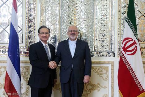 รมว.ต่างประเทศเยือนอิหร่านอย่างเป็นทางการเพื่อเจรจาเรื่องเศรษฐกิจและพลังงาน