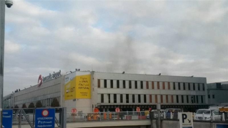 ข่าวด่วน! ระเบิดสนามบินนานาชาติหลัก Zaventem ในกรุงบรัสเซลส์ ประเทศเบลเยี่ยม