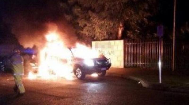 เหตุระเบิดนอกศูนย์อิสลามเมืองเพิร์ธ ออสเตรเลีย