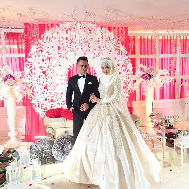 9 ภาพดาราสาวไทย สวมชุดแต่งงานแบบมุสลิม สวยหรู ดั่งเจ้าหญิง