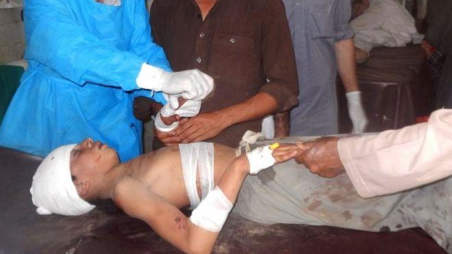มือระเบิดฆ่าตัวตายก่อเหตุที่มัสยิดในปากีสถาน มีผู้เสียชีวิต 20 กว่าราย
