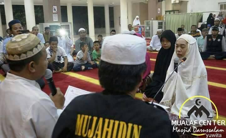 สุดปลื้ม!! สาวอินโดฯ กับความพยายามในการเข้ารับอิสลาม