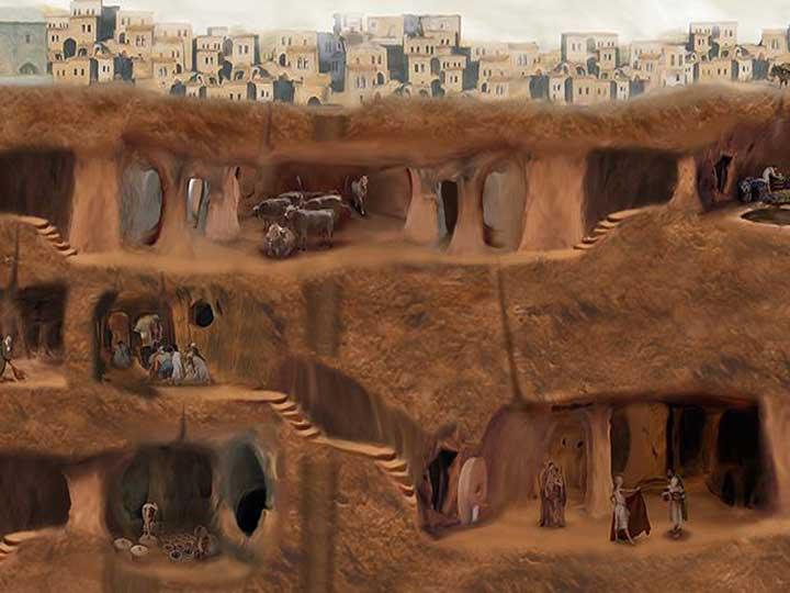 ตะลึง! พบเมืองใต้ดินโบราณในตุรกี ถูกระบุยุคก่อนคริสต์กาล