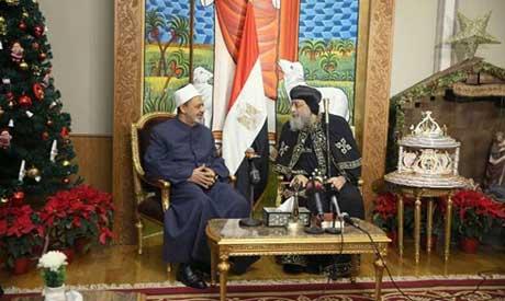 อิหม่ามใหญ่อัซฮัร แสดงความยินดีผู้นำคริสต์ก่อนคริสต์มาส