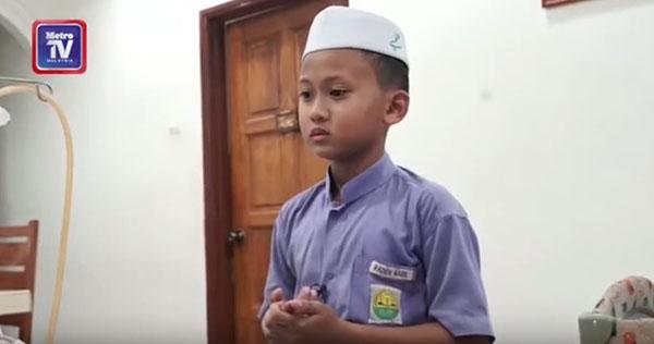 หนูจะไม่หยุด!! เด็กหนุ่มอาซานในทุกครั้งที่เจอคุณพ่อ ความหวังสุดยิ่งใหญ่เพื่อพ่อ (ชมคลิป)